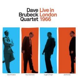 DaveBrubeckQuartetLiveInLondon1966Cover