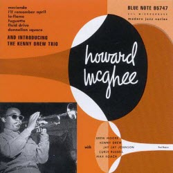 HowardMcGheeIntroducingTheKennyDrewTrioCover