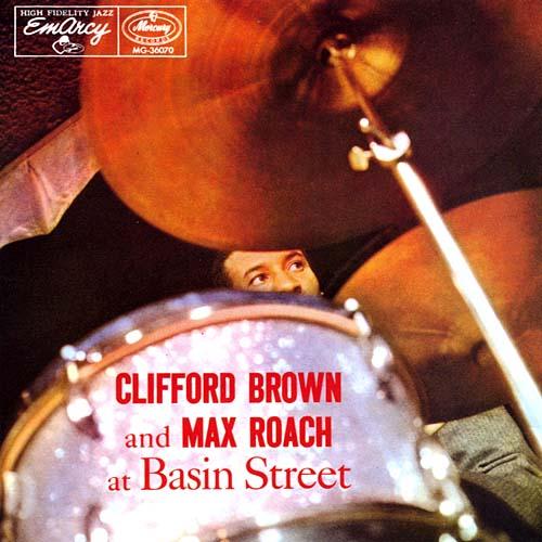 CliffordBrown-Max RoachQuintetBasinStreetCover