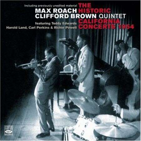 HistoricMaxRoach-Clifford BrownCaliforniaConcerts1954Cover